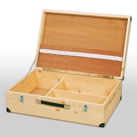 Holz-Werkzeugkoffer