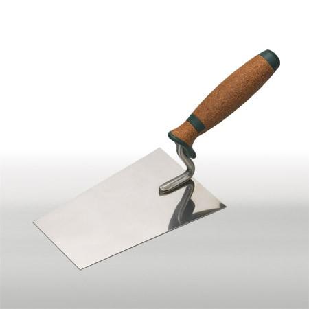 Edelstahl-Kelle, Korkgriff 18 cm