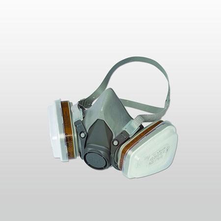 3M Farbspritzmasken-Set A2/P2